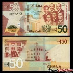 GHANA - Billet de 50 Cedis - 2019 P42f