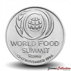 ROUMANIE - PIECE de 10 Lei - Sommet mondial de l'alimentation de 1996, Rome - 1996
