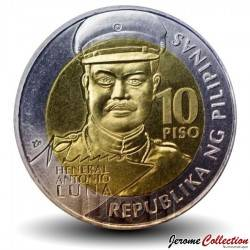 PHILIPPINES - PIECE de 10 Piso - Antonio Luna - 2016