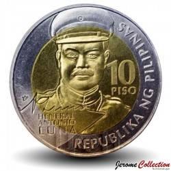 PHILIPPINES - PIECE de 10 Piso - Antonio Luna - 2016 Km#295