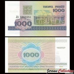 BIÉLORUSSIE - Billet de 1000 Roubles - 1998 P16a