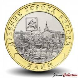RUSSIE - PIECE de 10 Roubles - Villes historiques de Russie: Kline (Oblast de Moscou) - 2019
