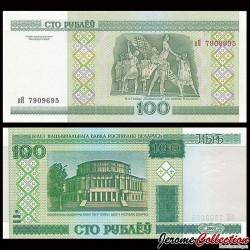 BIÉLORUSSIE - Billet de 100 Roubles - 2000