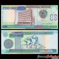 MOZAMBIQUE - Billet de 200000 Meticais - 16.06.2003