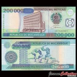 MOZAMBIQUE - Billet de 200000 Meticais - 16.06.2003 P141a