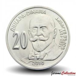 SERBIE - PIECE de 20 Dinars - Georg Weifert - 2010 Km#61