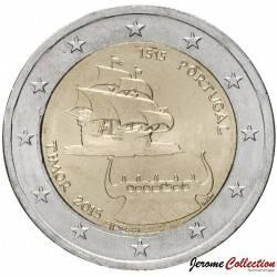 PORTUGAL - PIECE de 2 Euro - Découverte du Timor - 2015 Km#849