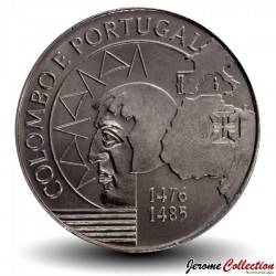PORTUGAL - PIECE de 200 Escudos - Christophe Colomb - 1991 Km#658