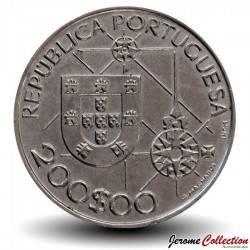 PORTUGAL - PIECE de 200 Escudos - Découverte de l'Amérique - 1992