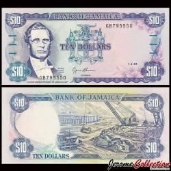 JAMAIQUE - Billet de 10 DOLLARS - George William Gordon - 1.3.1994 P71e