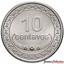 TIMOR ORIENTAL - PIECE de 10 Centavos - Coq - 2011