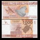 Territoires Français du Pacifique - Billet de 1000 Francs - 2018