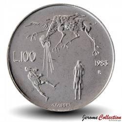 SAINT-MARIN - PIECE de 100 Lire - Le destin- 1983