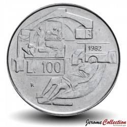 SAINT-MARIN - PIECE de 100 Lire - Hôpital - 1982