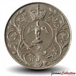 ROYAUME-UNI - PIECE de 25 Pence - Jubilé d'argent de règne - 1977