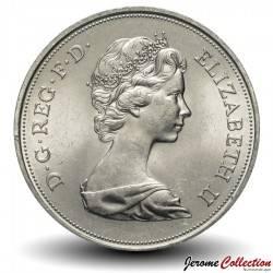 ROYAUME-UNI - PIECE de 25 Pence - Noces d'argent - 1972