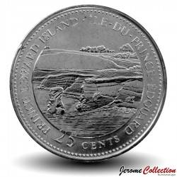 CANADA - PIECE de 25 Cents - Île-du-Prince-Édouard - 1992 Km#222