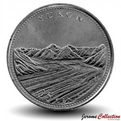 CANADA - PIECE de 25 Cents - Yukon - 1992