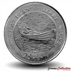 CANADA - PIECE de 25 Cents - Terre-Neuve - 1992