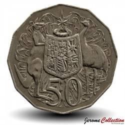 AUSTRALIE - PIECE de 50 Cents - Bass & Flinders - 1998