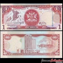 TRINITÉ-ET-TOBAGO - Billet de 1 DOLLAR - Oiseau Ibis rouge - 2006