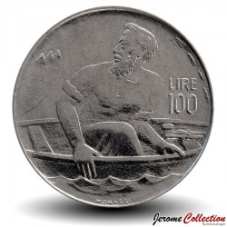 SAINT-MARIN - PIECE de 100 Lire - Marin - 1972