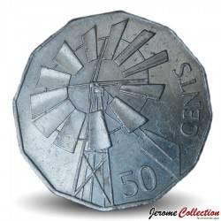 AUSTRALIE - PIECE de 50 Cents - L'Outback - 2002 Km#602