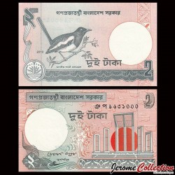 BANGLADESH - Billet de 2 Taka - 2010