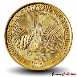 ARMENIE - PIECE de 200 DRAM - Pin de Koch - 2014 Km#286