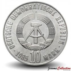 ALLEMAGNE DE L'EST / DDR / RDA - PIECE de 10 Marks - Libération du fascisme - 1985