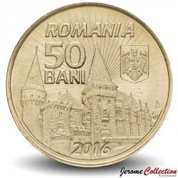 ROUMANIE - PIECE de 50 Bani - Iancu de Hunedoara - 2016