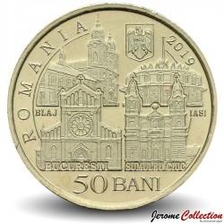 ROUMANIE - PIECE de 50 Bani - Voyage du pape Francois en Roumanie - 2019