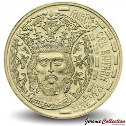 ROUMANIE - PIECE de 50 Bani - Intronisation de Mircea Ier de Valachie - 2011 Km#260