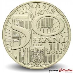 ROUMANIE - PIECE de 50 Bani - Neagoe Basarab - 2012