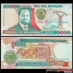 MOZAMBIQUE - Billet de 10000 Meticais - 1991
