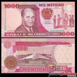 MOZAMBIQUE - Billet de 1000 Meticais - 1991