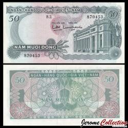 SUD VIETNAM - Billet de 50 Dong - 1969 P0025a