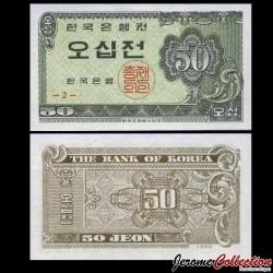 CORÉE DU SUD - Billet de 50 Jeon - 1962 P29a