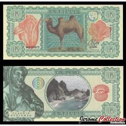 ANTILLIA - Billet de 1 PESO - 2017 - CHAMEAU - Claude Ptolémée