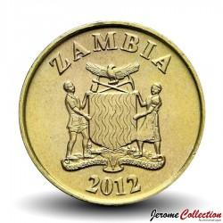ZAMBIE - PIECE de 10 Ngwee - Un éland - 2012