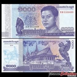CAMBODGE - Billet de 1000 Riels - 2016 / 2017