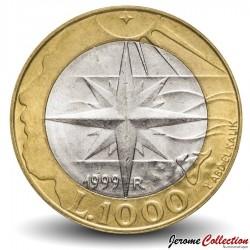 SAINT-MARIN - PIECE de 1000 Lires - L'exploration - 1999 Km#395
