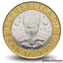 SAINT-MARIN - PIECE de 1000 Lires - L'exploration - 1999