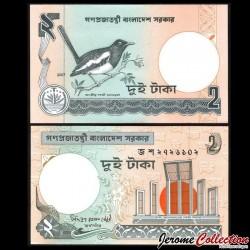 BANGLADESH - Billet de 2 Taka - 2007