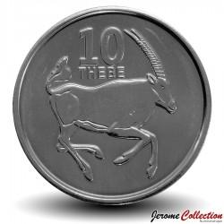 BOTSWANA - PIECE de 10 Thebe - Oryx - 2013 Km#32