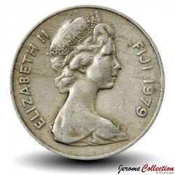 FIDJI - PIECE de 20 Cents - Dent de cachalot - 1979
