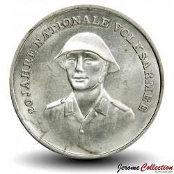 ALLEMAGNE DE L'EST / DDR / RDA - PIECE de 10 Marks - Armée nationale - 1976