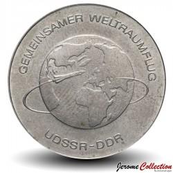 ALLEMAGNE DE L'EST / DDR / RDA - PIECE de 10 Marks - Vol URSS-RDA - 1978