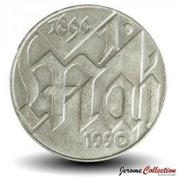 ALLEMAGNE DE L'EST / DDR / RDA - PIECE de 10 Marks - Fête international du travail - 1990 Km#136