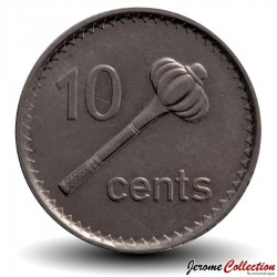 FIDJI - PIECE de 10 Cents - Massue - 2006 Km#52a